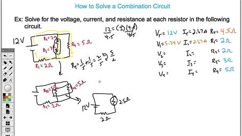 How Solve Combination Circuit Easy Youtube