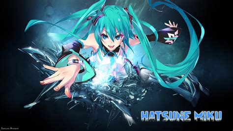 Anime Wallpaper Hd Hatsune Miku Hatsune Miku Wallpaper 58 Wallpapers 3d Wallpapers