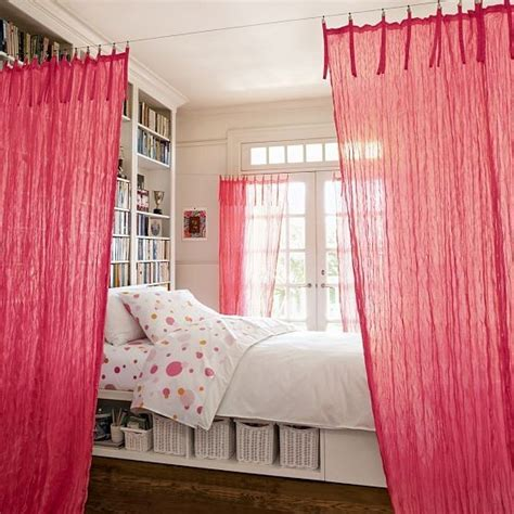 How To Divide A Room With Curtains  Furniture Ideas