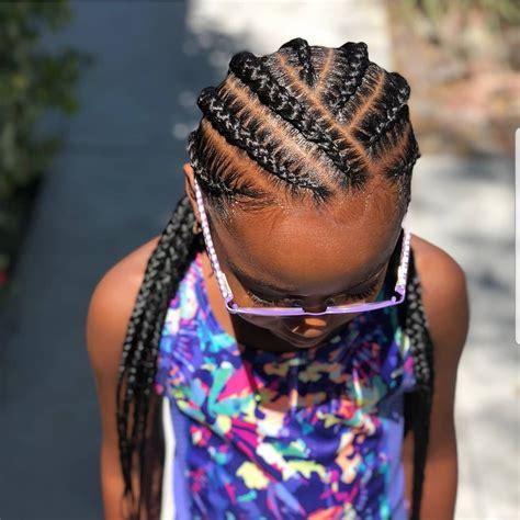 braided hairstyles  kids  hairstyles  black girls