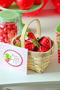 Sweet Party Day : kara 39 s party ideas berry sweet strawberry valentine 39 s day ~ Melissatoandfro.com Idées de Décoration