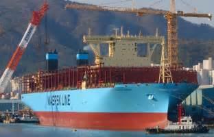 maersk reprend le titre du  grand porte conteneurs