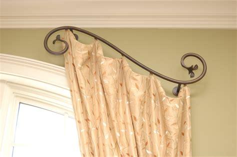 custom curtain rods curtain amazing custom curtain rods custom curved curtain