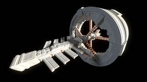 3D Printed Futuristic Space Station Concept – PM3D