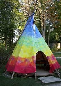 idee gt indianerzelt wigwam tipi oder jurte im garten With französischer balkon mit tipi garten kinder