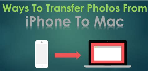 3 ways to transfer iphone photos to windows ways to transfer photos from iphone to mac