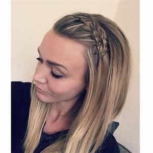 Coiffure Tresse Facile Cheveux Mi Long : coiffure avec tresse cheveux mi long coiffure simple et ~ Melissatoandfro.com Idées de Décoration