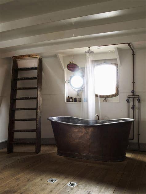 designs for bathrooms 20 rustic bathroom designs with copper bathtub