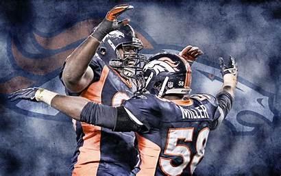 Broncos Von Miller Denver Defense Wallpapers Celebration