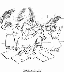Palm Sunday Coloring Page Az Coloring Pages