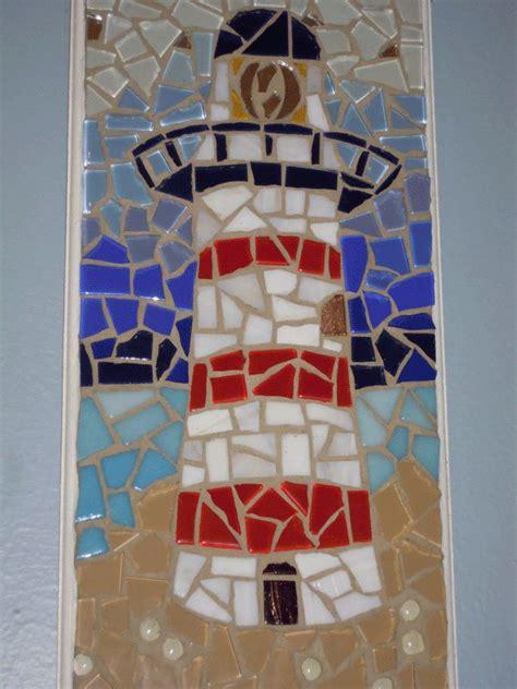lighthouse mosaic mosaic art projects mosaic projects