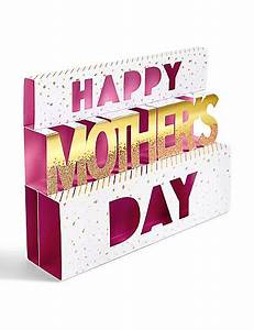 Pop-up Text Mother's Day Card | M&S