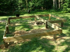 building a shed on concrete piers pier foundations protect trees