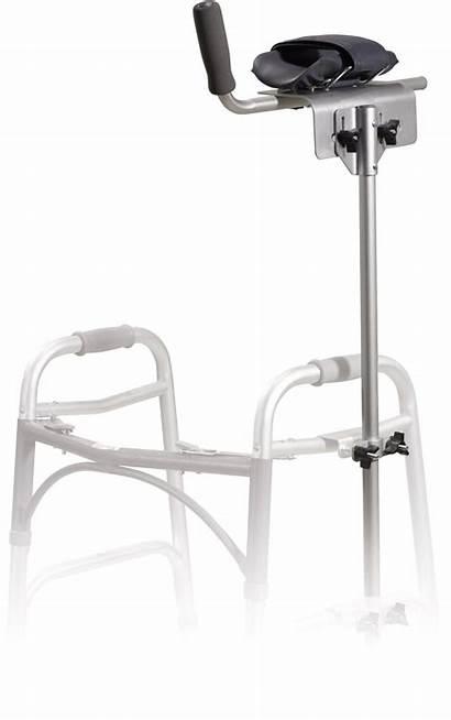 Walker Crutch Attachment Platform Drive Accessories Crutches