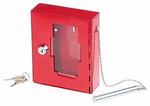 Boîte à Clés : bo te cl d 39 urgence avec vitre et marteau brise vitre xcase ~ Teatrodelosmanantiales.com Idées de Décoration