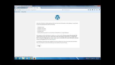 install wordpress  windows   wamp server