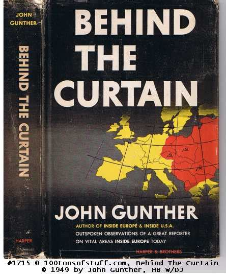 The Iron Curtain Book by Books