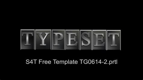 free premiere pro title templates style4type free s4t premiere pro title template movable type