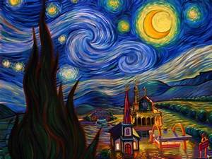 wallpapers: Van Goghs Starry Night