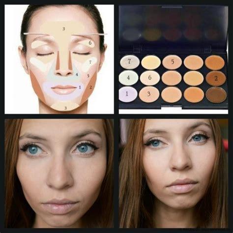 Как наносить правильно консилер для лица под глаза и как краситься палеткой консилеров