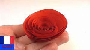 Comment Faire Des Roses En Papier : bricoler une rose rouge en papier rose en papier simple et rapide faire pour la saint ~ Melissatoandfro.com Idées de Décoration