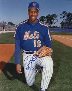 "Dwight Gooden Signed Mets 8x10 Photo: Inscribed ""1986 WS ..."
