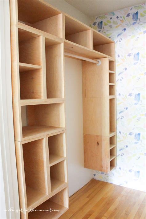 diy custom closet organizer  brilliant box system