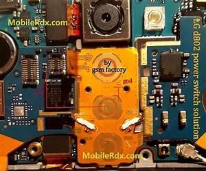 Lg G2 D802 Power Switch Button Ways Solution