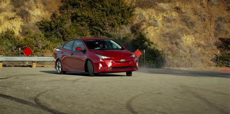 Toyota Prius Drifts In 2016 Super Bowl Commercial