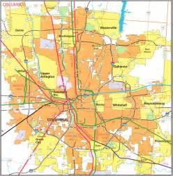 Columbus Ohio Map