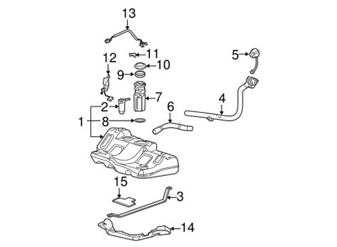 Oem Fuel System Components For Pontiac Grand Prix