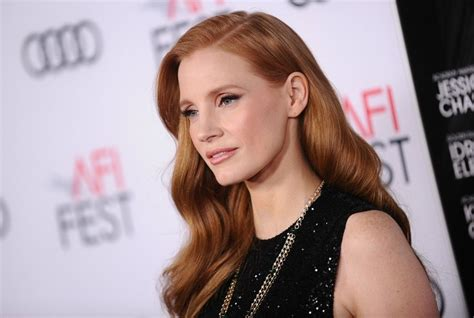 actress jennifer chastain jessica chastain on all white actress photoshoot the