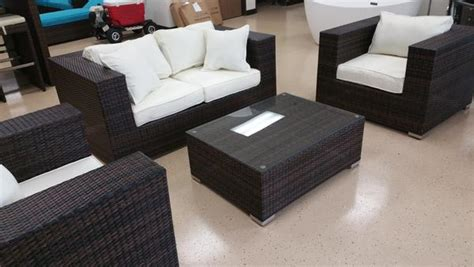 king size  piece outdoor wicker patio furniture set san