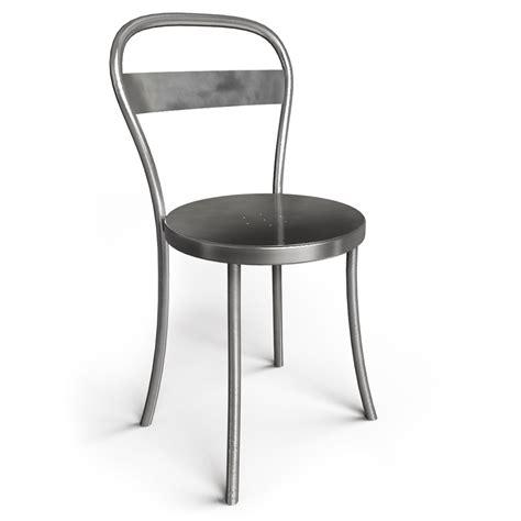 chaise en acier objets bim et cao souvignet design chaise ds no 1 acier