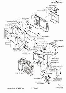 Nikon Coolpix P6000 Parts Service Manual Download