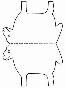 cotton ball sheep craft kidz activities With lamb cut out template