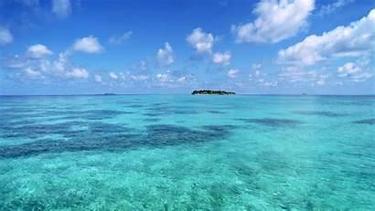 Water Ocean Sea Horizon Islands Wallpapersafari