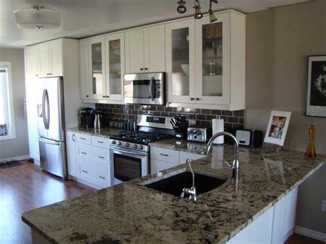 granite countertops ikea ikea adel white kitchen with granite countertop i d