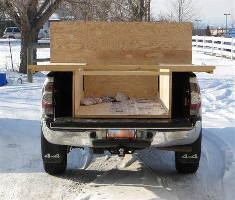 glen camper build plans own trailer rv tacoma bed building dimensions