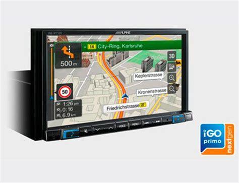 igo primo kartenupdate ine w710dca alpine navigation produkte