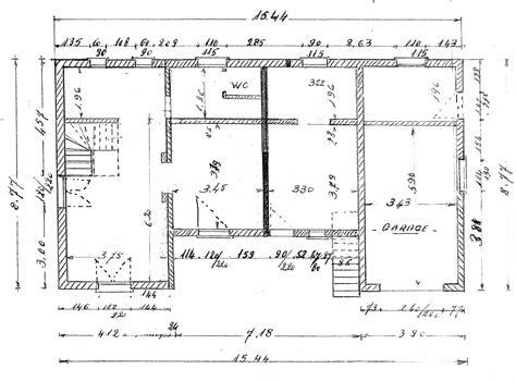 plan maison 3 chambres etage cuisine rassembler plusieurs logements en une maison