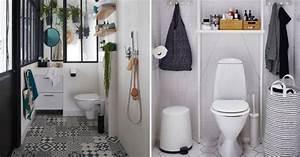 Décorer Ses Toilettes : d corer ses wc toutes nos inspirations marie claire ~ Premium-room.com Idées de Décoration