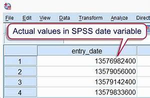 Spss Variable Berechnen : spss date variables quick introduction ~ Themetempest.com Abrechnung