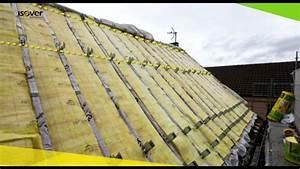 Spot Encastrable Exterieur Sous Toiture : isolation des toitures par l 39 ext rieur avec le syst me int gra r no youtube ~ Melissatoandfro.com Idées de Décoration