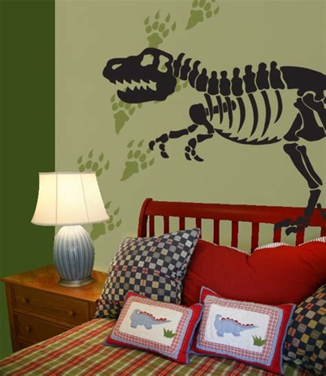 dinosaur bones tracks wall decals stickers