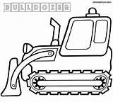 Bulldozer Coloring Pages Dozer Bull Construction Printable John Deere Colorings Wickedbabesblog sketch template