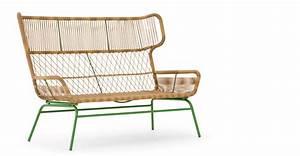 Lounge Sofa 2 Sitzer Outdoor : lyra 2 sitzer gartensofa gr n made com ~ Whattoseeinmadrid.com Haus und Dekorationen
