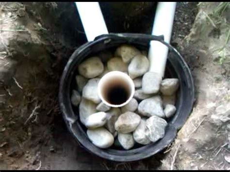 french drain  dry wellgp youtube