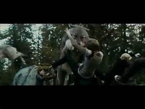 "twilight eclipse fight scene ""cullens & wearwolves vs ..."