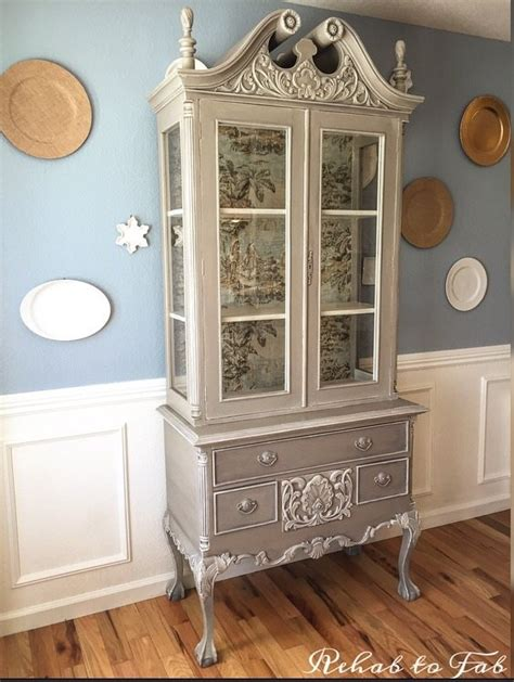 French Country Toile Hutch! Hometalk